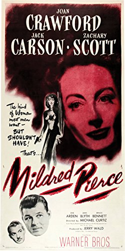 Mildred Pierce Poster - Mildred Pierce Movie Poster or Canvas