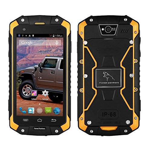 Dax-Bosque-Leopard-Telfono-A-Prueba-De-Agua-Smartphone-Touch-Pantalla-Anti-Choque-Anti-Polvo-Pantalla-45-Dual-Core