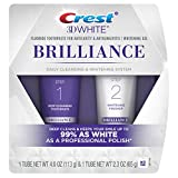 Health & Personal Care : Crest 3D White Brilliance Toothpaste and Whitening Gel System, 4.0oz and 2.3oz