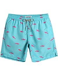81fbc3988f0 Mens Swim Trunks Quick Dry Beach Wear Shorts Mesh Lining Swimwear Bathing  Suits