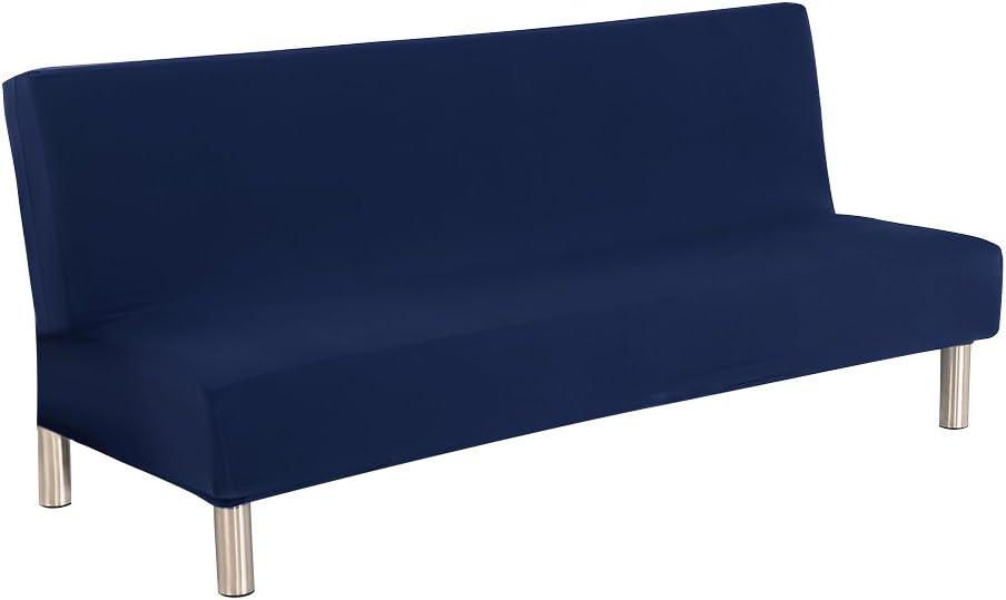 SMARTRICH SmartTech Copridivano Elasticizzato Blue 200 cm 180-210 cm Senza braccioli