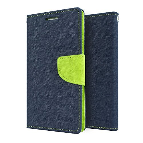 Sparkling Trends Mercury Goospery Fancy Diary Wallet Flip Cover Case for Nokia Lumia 1520 Blue