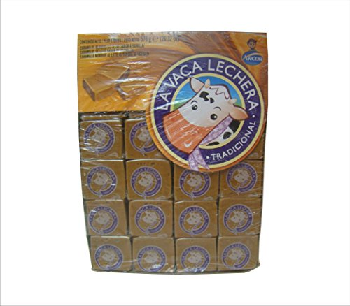 LA VACA LECHERA Caramelos Blandos de Dulce de Leche 576 gr. | Soft Caramel Candy 20.31 oz.- Box of 48.
