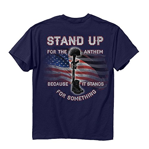 Buck Wear Stand Up Men's T-Shirt -xl