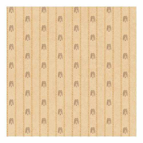 York Wallcoverings SM8727SMP Small Treasures Primitive Weeping Willow Stripe 8 x 10 Wallpaper Memo (Willow Stripe)