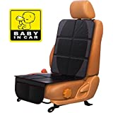 Car Seat Protector for Baby & Toddler by FORTEM | 100% Waterproof Very Thick & Durable Quality Backseat Cover | Protection Against Damage to Leather & Cloth Seats | Bonus Baby On Board Sticker