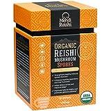 Organic Reishi Mushroom Spore Powder by Mehdi Reishi – 30 Servings, 1,000mg –100% Pure, Natural, Organic Spores –Ganoderma Lucidum, Lingzhi Mushroom – High-Level Potency 4.5%+ Triterpenes