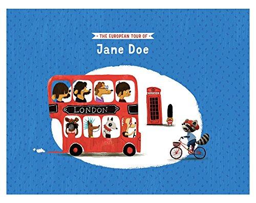 The European Tour by ZebraBook - Custom Children's Book