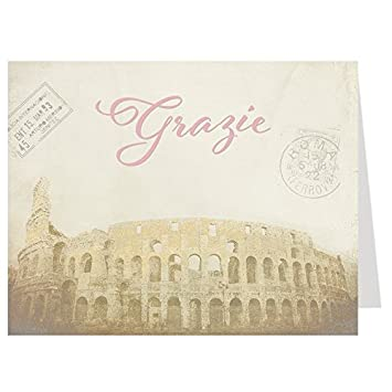 Amazon Com Bridal Shower Thank You Cards That S Amore Grazie
