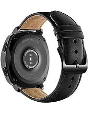 Shieranlee 20 mm leren horlogebandje, leren armband, vervanging voor Garmin Vivoactive 3 Music/Vivoactive 3/Venu/Vivomove HR/Luxe/Style/Forerunner 245/645 Music