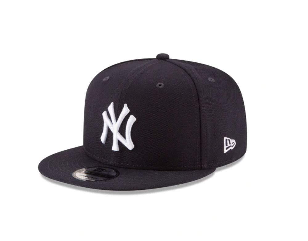 Amazon.com   One size 11591024 Men s Yankees 950 Hat Cap Basic Navy Blue White  Snapback   Sports   Outdoors 02dd888261b