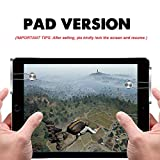 WENDOM Game Controller for PAD Tablet PC Metal Gaming Trigger 180° Touchable Shoot&Aim Button Gift for Gamers WENDOM