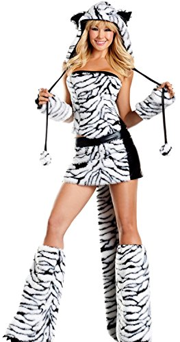 Leia Costume Uk (IF FEEL Womens Sexy Halloween Masquerade Cosplay Animal Costume (M, LC8717))