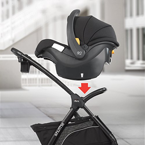 Chicco Shuttle Caddy Stroller, Black - Tienda de carriolas