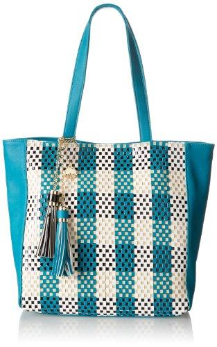 BIG BUDDHA Jcorsica Shoulder Bag,Teal,One