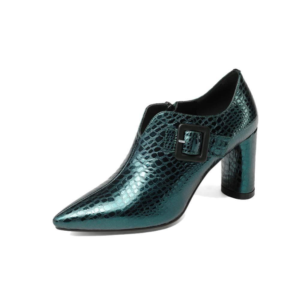 044152cacae64 ZPEDY Style Chaussures pour Femmes, Style ZPEDY Européen Et Américain,  Pointues, Mode, Talons Hauts, Fermeture éclair, ConfortB07JVFWD62Parent  83c0d0