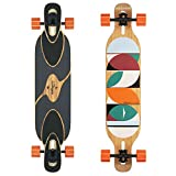 Loaded Boards Dervish Sama Bamboo Longboard Skateboard Complete (80a In Heat, Flex 1)