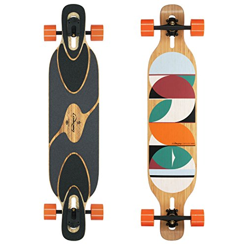 スリットぬいぐるみ知っているに立ち寄るLoaded Dervish Sama Flex 3 Complete Longboard Skateboard by Loaded