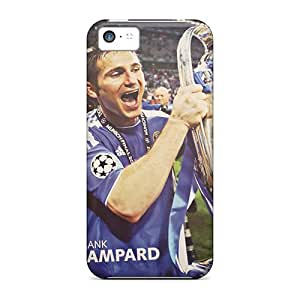 StarFisher Iphone 5c Well-designed Hard Case Cover The Player Of Chelsea Frank Lampard With His Own Trophy Protector
