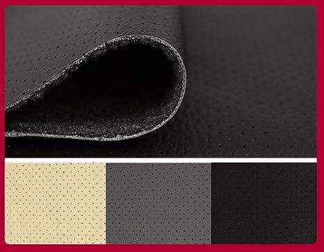 Car Interior Fabrics Nokturn - Material para tapizado de asiento de coche (piel sintética de espuma de poliuretano), color negro: Amazon.es: Coche y moto