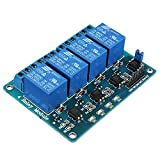 QOJA geekcreitu00ae 5v 4 channel relay module for arduino pic