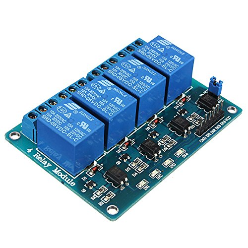 QOJA geekcreitu00ae 5v 4 channel relay module for arduino pic by QOJA
