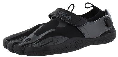 22162eb36d Amazon.com | Fila Men's Fs Skele-Toes Sneakers, Black, 12 M ...