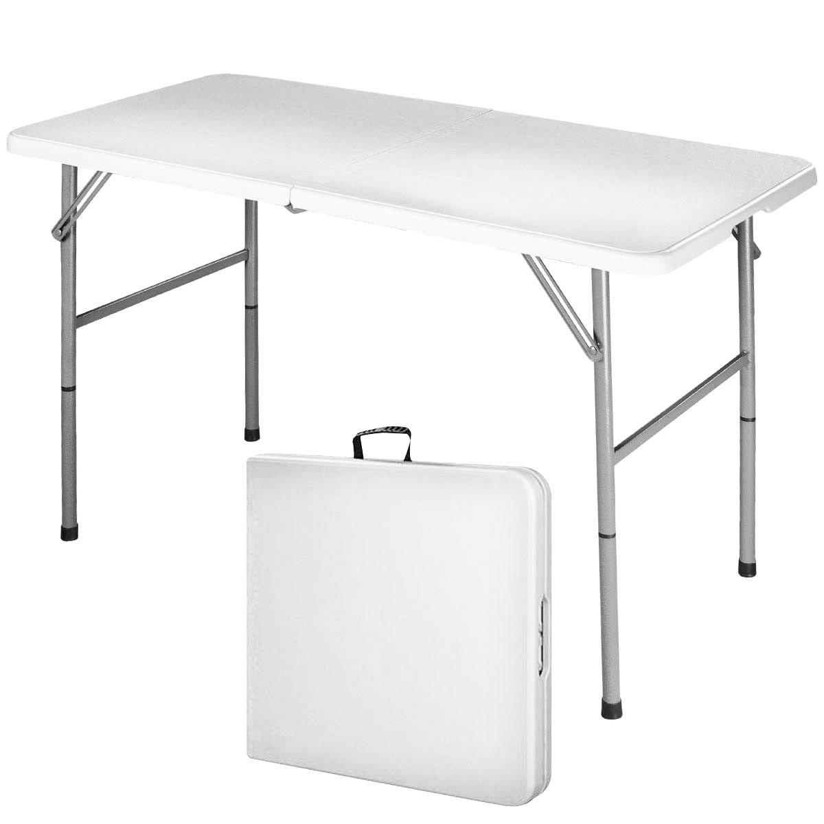 COSTWAY Klapptisch Campingtisch Falttisch Gartentisch Koffertisch Biertisch  Esstisch Balkontisch Tisch Klappbar (S): Amazon.de: Küche U0026 Haushalt