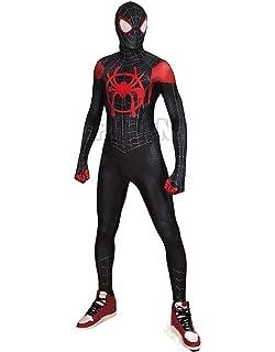 Amazon.com: Miles Morales ISP Spiderman Costume Into The ...