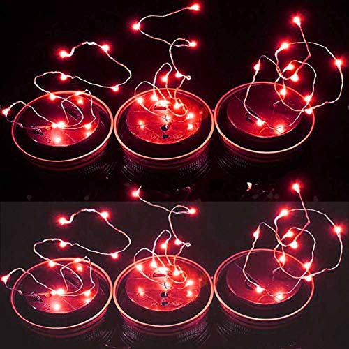 Red Berry Outdoor Fairy Lights in US - 6