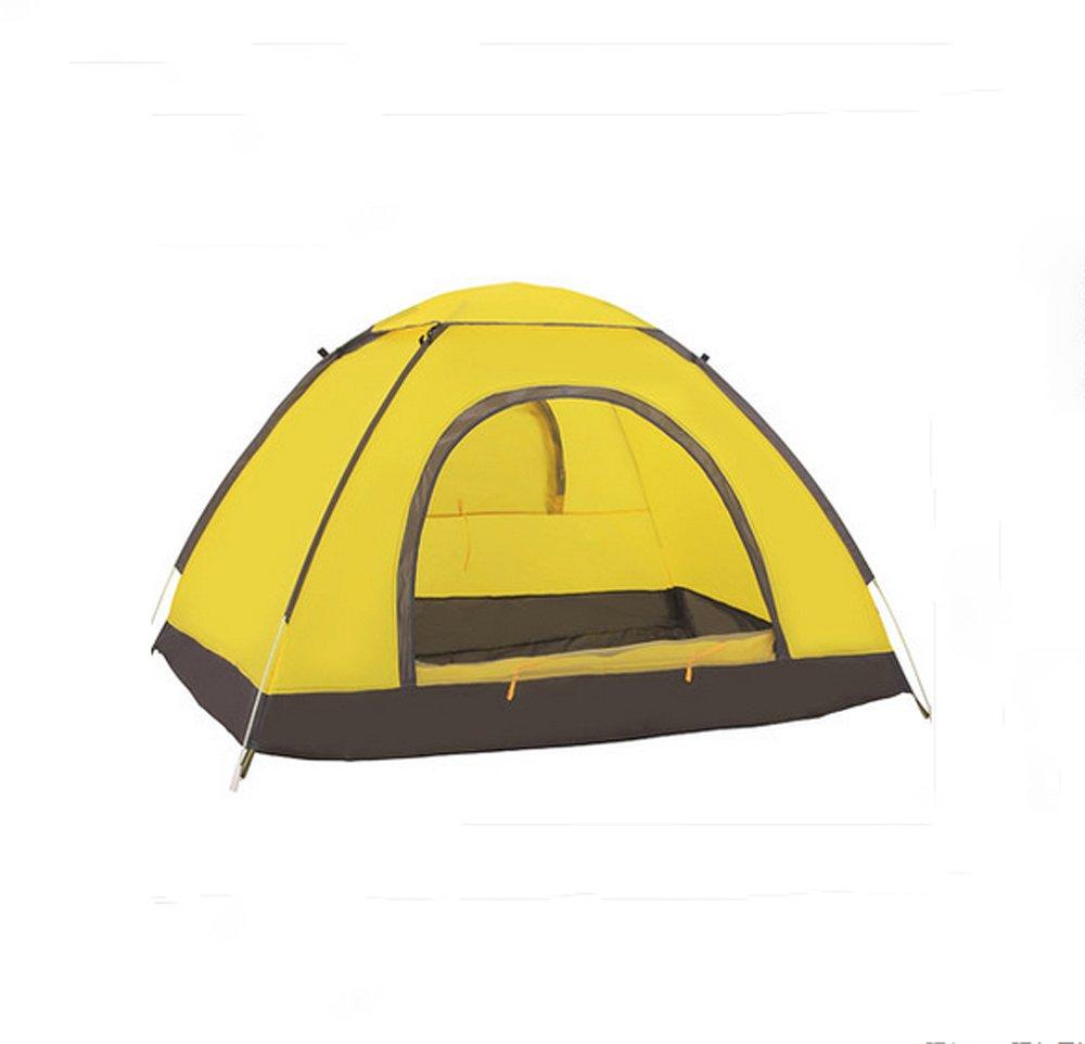 Outdoor - Zelt mit Zelt automatisch mit Wasser Wind 2 Personen automatisch Zelt Camping Zelt