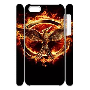 The Hunger Games 3 SANDY069276 3D Art Print Design Phone Back Case Customized Hard Shell Protection Iphone 5C