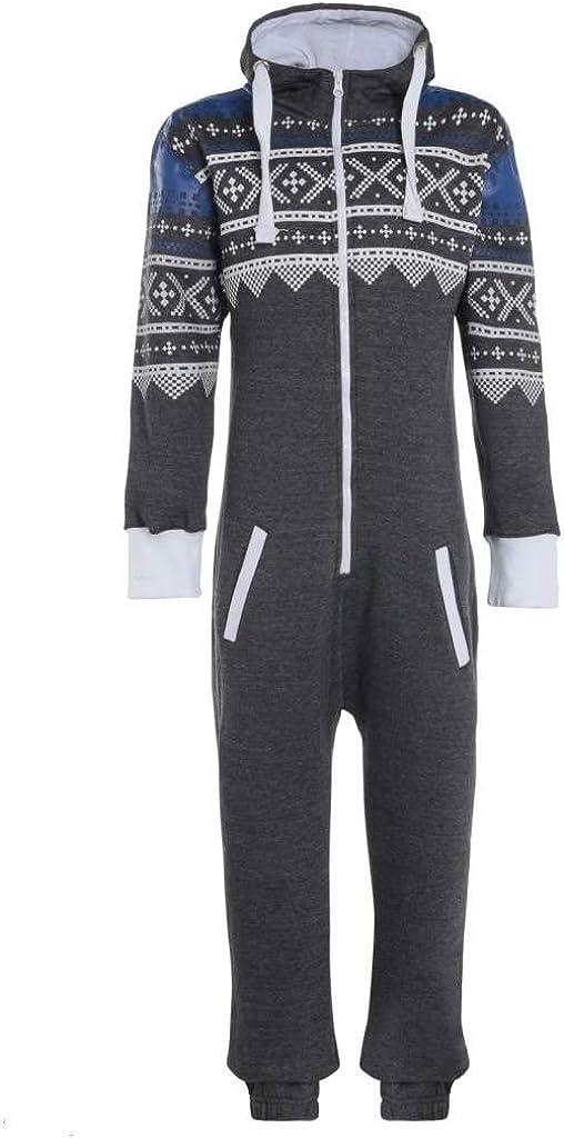 Mymixtrendz/® Childrens Kids Girls Boys Unisex Plain Aztec Army USA Novelty Xmas Onesie Jumpsuit Night Suit 7-13 Years