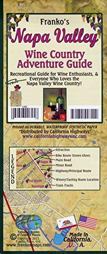 Napa Valley (California) Wine Map and Guide, FRANKO