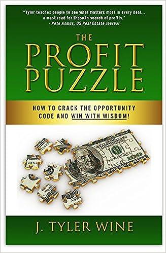 The Profit Puzzle: J  Tyler Wine: 9781942707097: Amazon com: Books