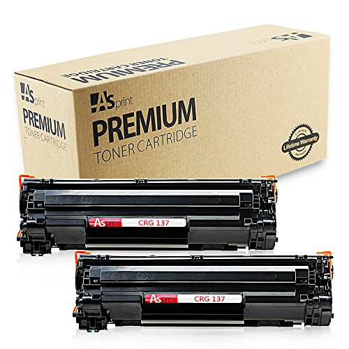 2 Pack Compatible Toner Cartridge Replacements for Canon 137 Canon Cartridge 137 CRG137 CRG 137 9435B001AA Black for Canon ImageCLASS MF216N MF227DW MF229DW MF236N MF244DW MF247DW MF249DW Printer