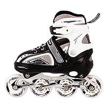 Outdoor Style Kids Inline Skates Adjustable Durable Rollerblades Safe Unisex Fast Long Feng 907B