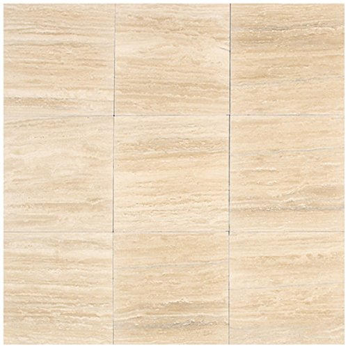Dal-Tile T7111212V1L Travertine Tile Torreon Vein Cut Polished 12 x 24