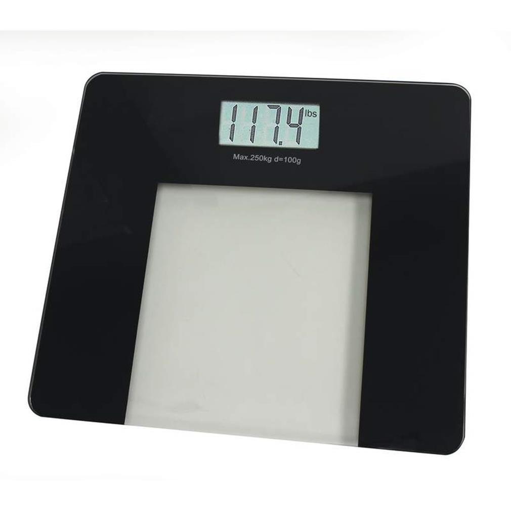 B & F System ELSCALE55 Health Smart Glass Electronic Bathroom Scale