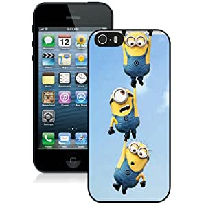 Beautiful And Unique Designed Case For iPhone 5S With Minion Hd Black Phone Case
