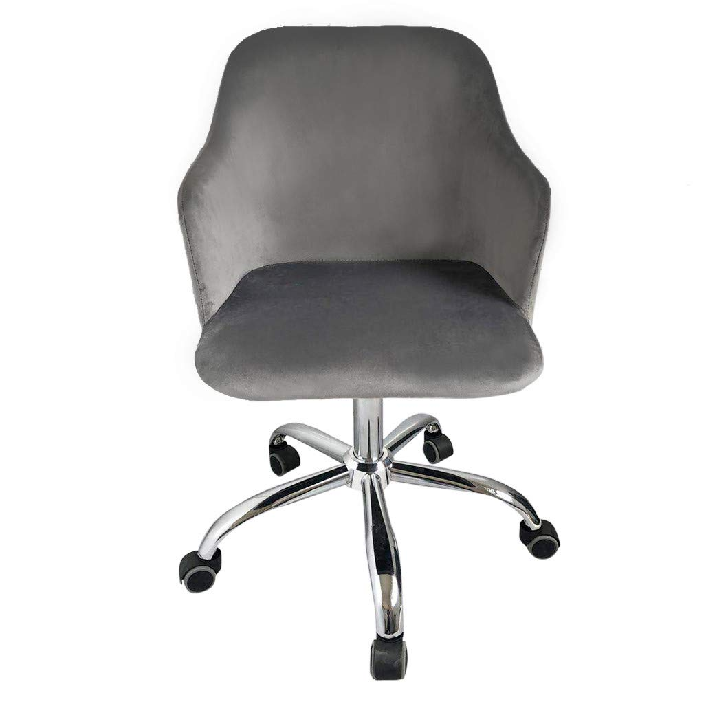 Jeeke Office Chair Leather Desk Gaming Chair with Massage Function Computer Chair Rolling Swivel Adjustable Stool Executive Chair for Workers & Students,Gray, Ship from USA (B) by Jeeke