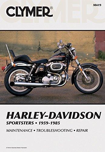 - Clymer Harley-Davidson Sportsters 1959-1985: Service, Repair, Maintenance (Clymer Motorcycle)