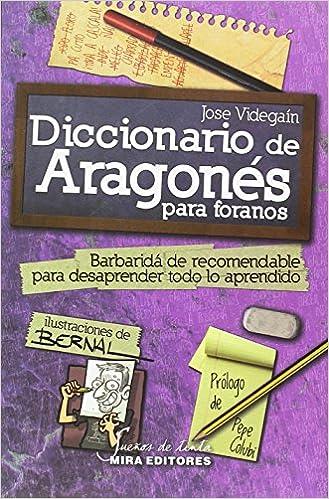 Diccionario de Aragonés para foranos Sueños de tinta: Amazon.es: Jose Videgaín, José Antonio Bernal: Libros