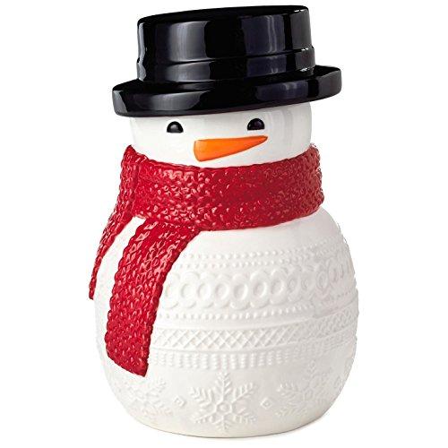 Sweater Print Snowman Cookie Jar Kitchen Accessories Snowmen (Hallmark Cookie Jars)