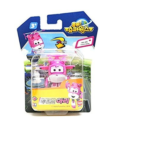 SUPER WINGS ARI MINI TRANSFORMER, Korean toy, Korean animation