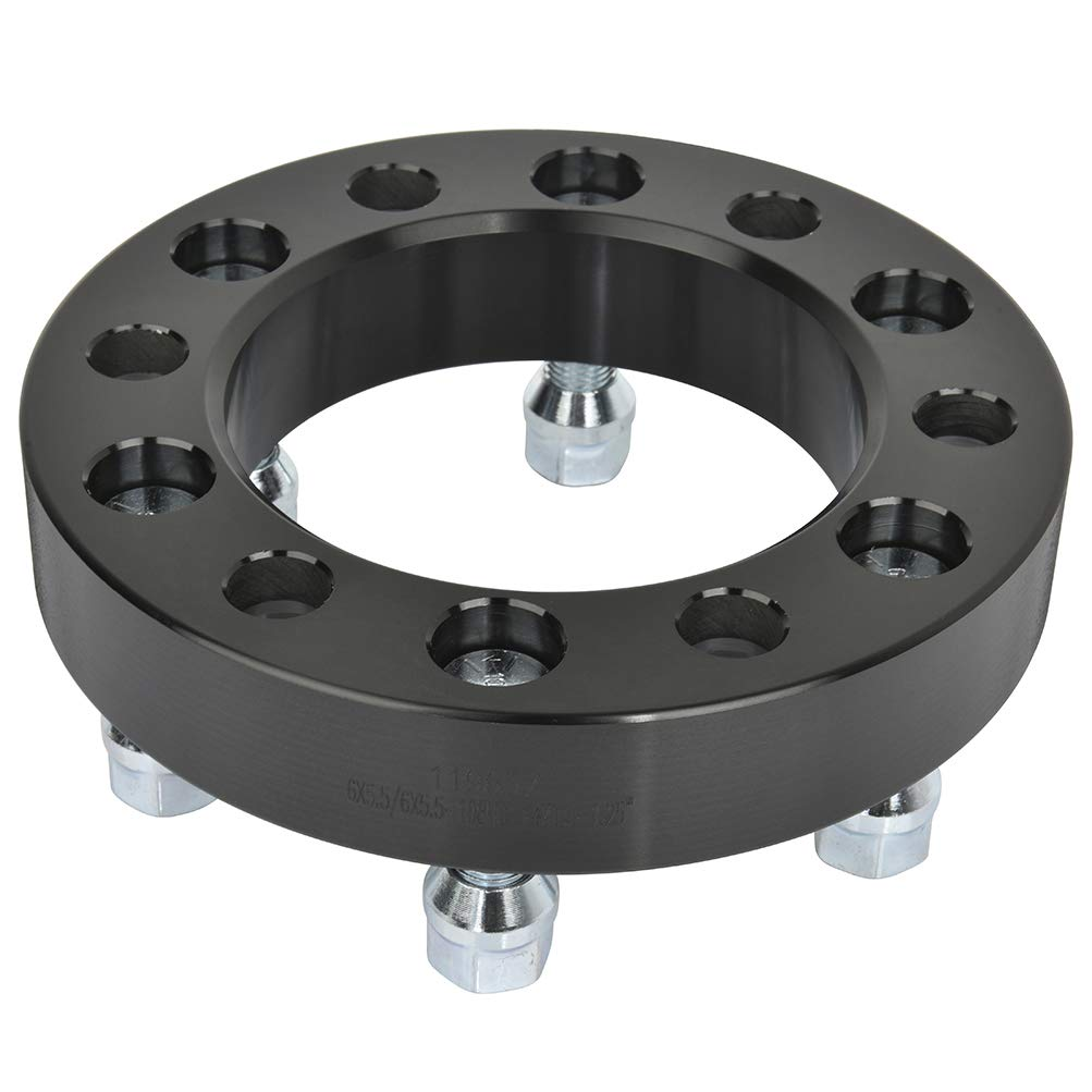 SCITOO 4x 6x139.7 Wheel Spacers Adapters 6x5.5 to 6x5.5 14x1.5 108 1.25 compatible with 1968-1970 Dodge Charger 1965-1969 Dodge Coronet 2007-2011 Dodge Nitro