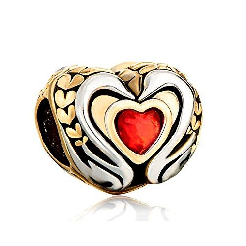 CharmsStory Claddagh Birthstone Crystal Bracelets