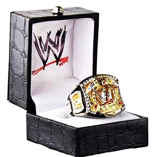 Mainstreet247 WWE World Heavyweight Unisex Ring Size 7 by Mainstreet247