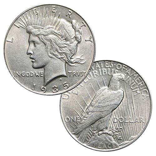 (Silver Peace Dollar $1 AU)