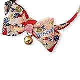 NECO ICHI Necoichi Chirimen Kimono Bow Tie Cat